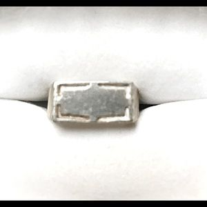 Sterling Silver Signet Rings - NEW